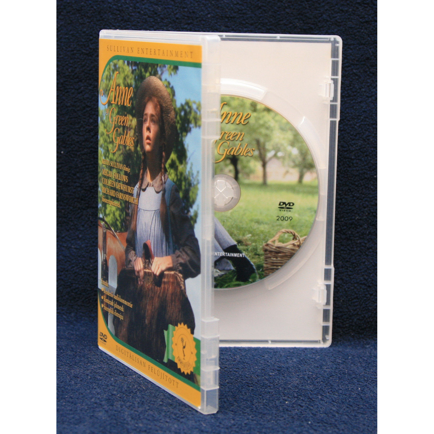 Anna Anne Of Green Gables D 237 Szdobozos Dvd Csomag 4 Dvd