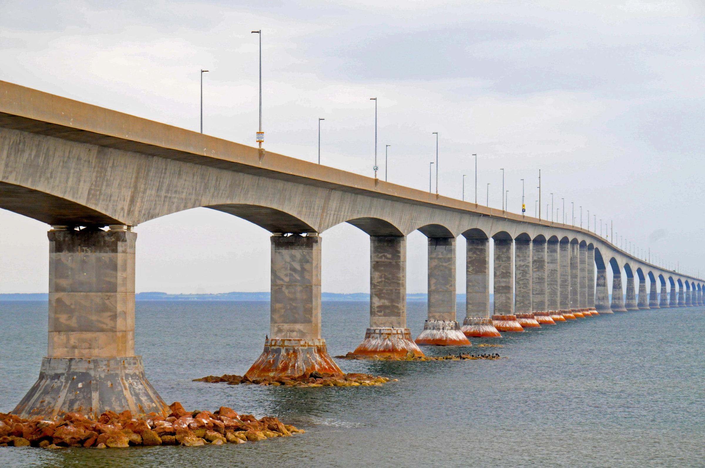 A Confederation Bridge New Brunswick és a Prince Edward-sziget között