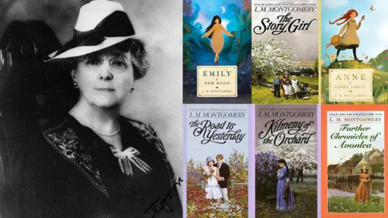 Lucy Maud Montgomery és a könyvei