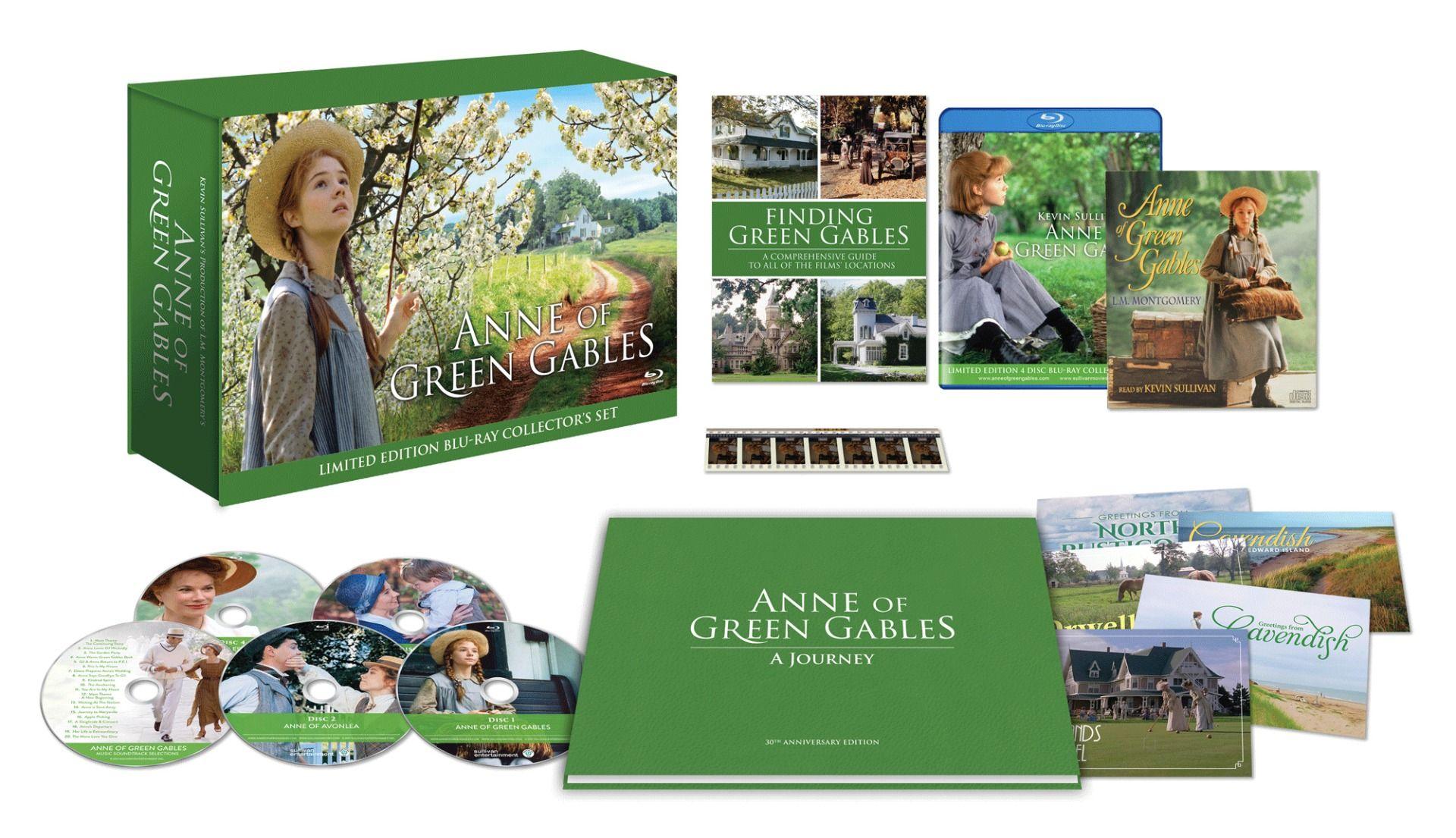 Anna Blu-ray kiadás látható mindenféle extra kiegészítőjével