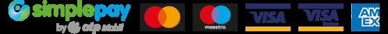 A kényelmes és biztonságos online fizetést a SimplePay biztosítja. Bankkártya adataid nem jutnak el hozzám.