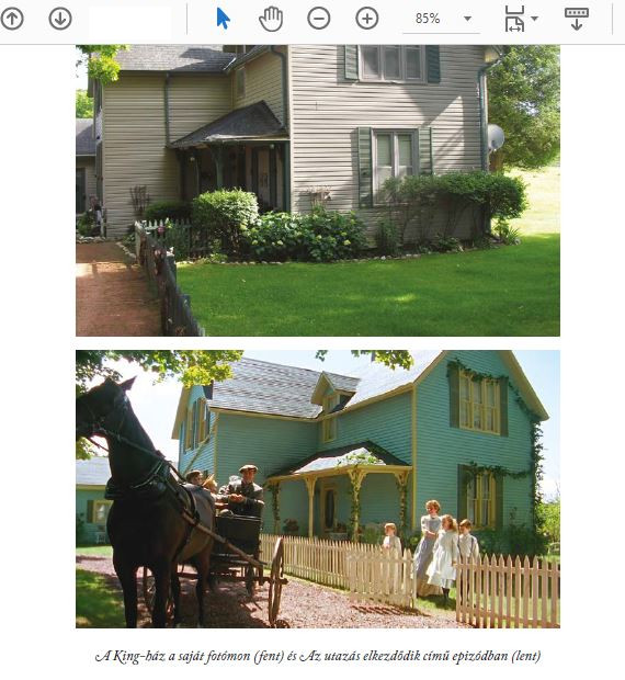Részlet a Váratlan utazásaim című könyvből, 2 fotó a King-házról