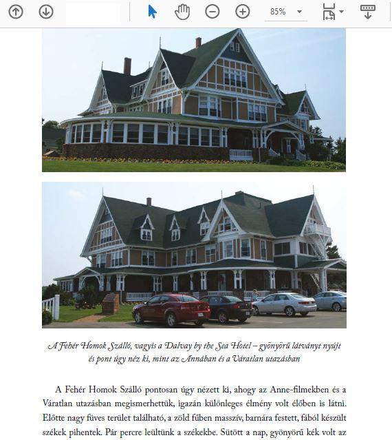 Részlet a Váratlan utazásaim című könyvből, 2 fotón a Fehér Homok Szálló