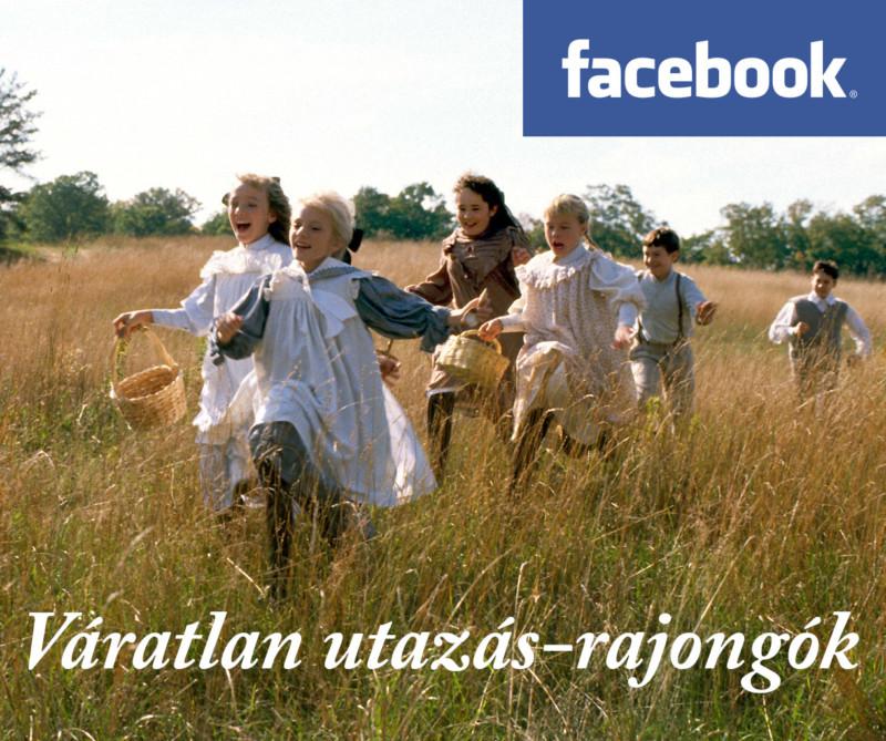Váratlan utazás-rajongók Facebook-csoport borítókép