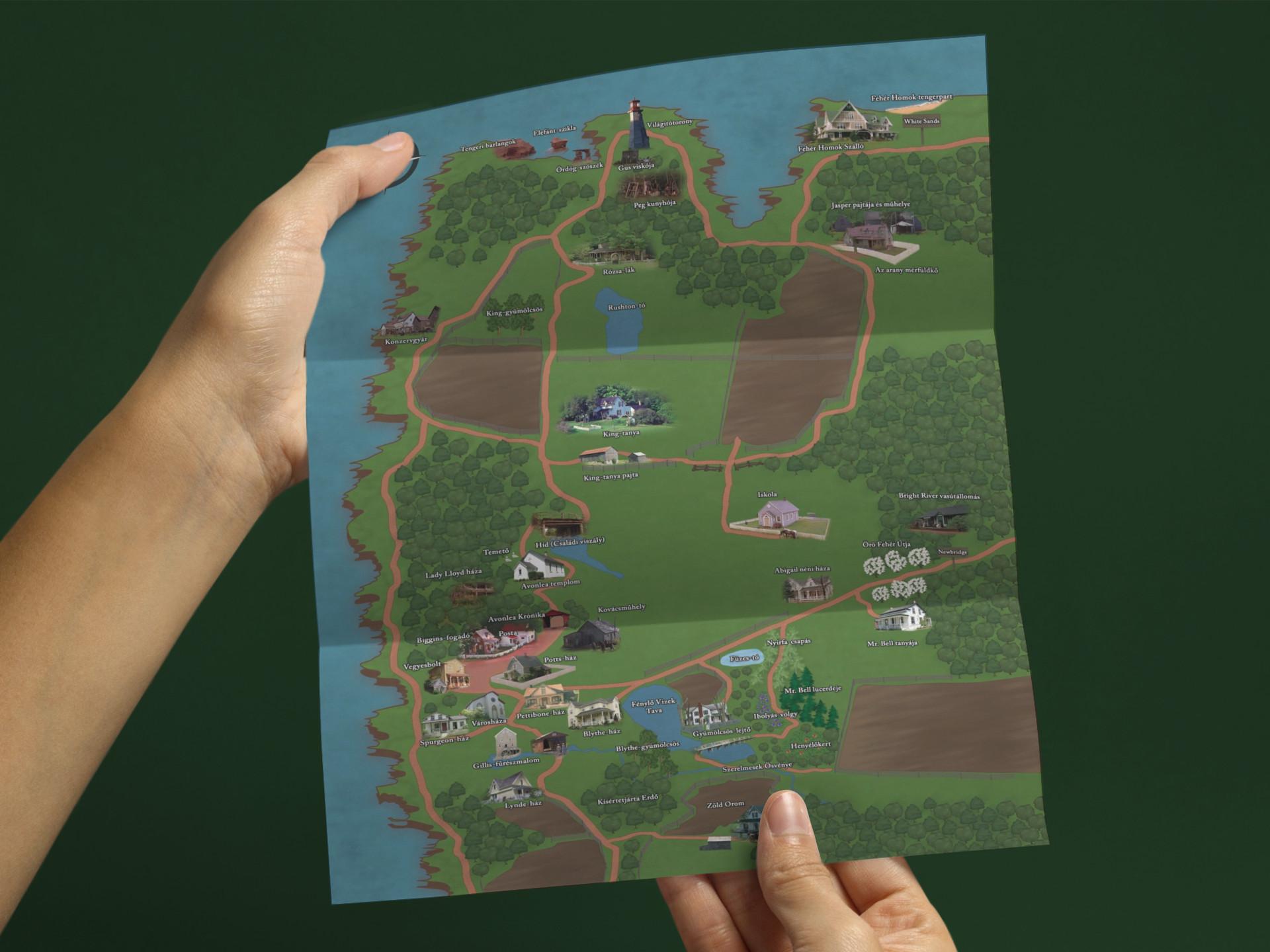 Avonlea térkép
