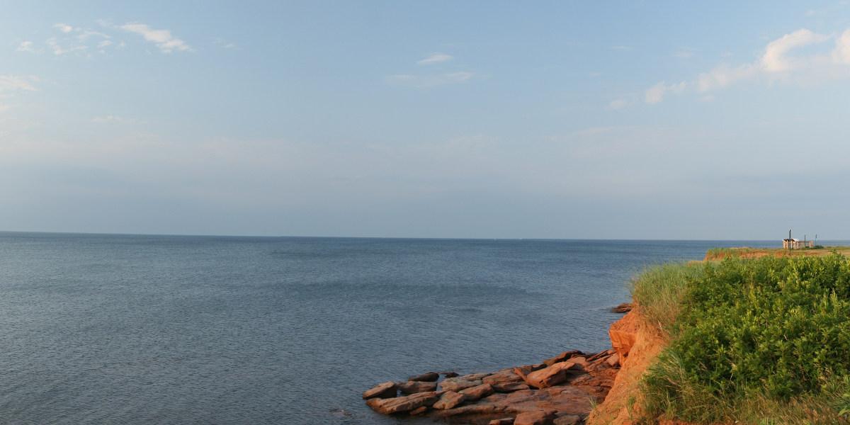 A Cavendish beach keleti része
