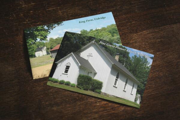 A két extra képeslap