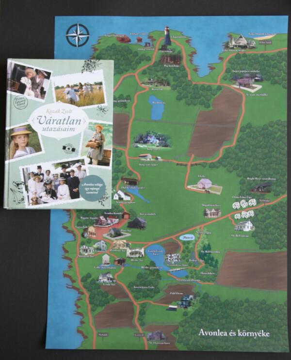 Avonlea térképe és a Váratlan utazásaim című könyv