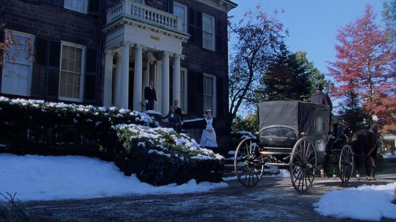 Jelenet az Annából: Harris kapitány bostoni háza