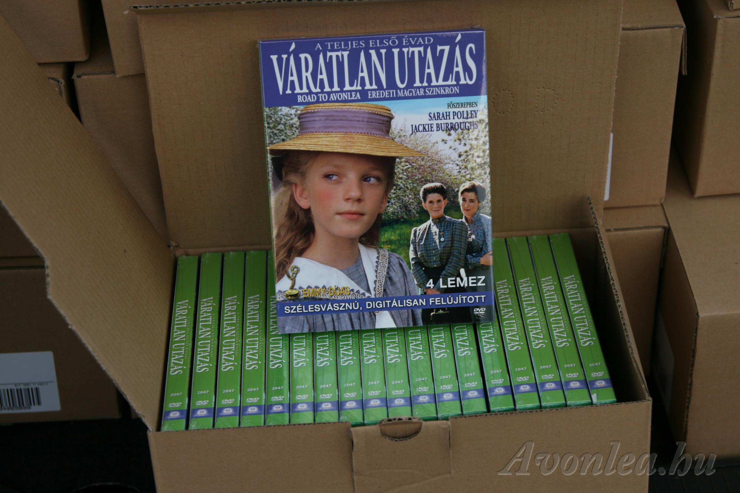 A várva várt DVD-csomag