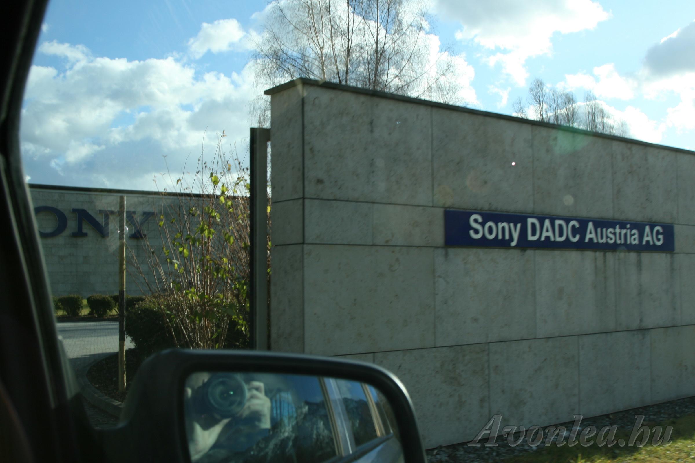 Sony DADC Austria AG - itt készültek a DVD-k